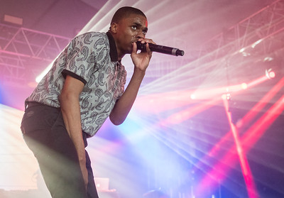 Vince Staples performs during the Bonnaroo Music and Arts Festival 2016 in Manchester TN.