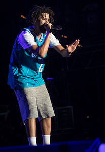 J Cole performs during the Bonnaroo Music and Arts Festival 2016 in Manchester TN.