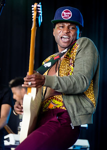 Roman Gianarthur performs during the Bonnaroo Music and Arts Festival 2016 in Manchester TN.