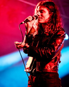 Garret Borns of Borns performs during the Bonnaroo Music and Arts Festival 2016 in Manchester TN.