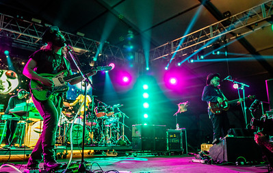 Sean Lennon and Les Claypool of The Claypool Lennon Delirium perform during the Bonnaroo Music and Arts Festival 2016 in Manchester TN.