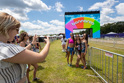 The arch at Bonnaroo Music and Arts Festival 2019 in Manchester TN