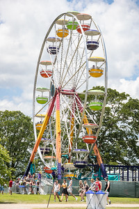 Ferris wheel at the Bonnaroo Music and Arts Festival 2019 in Manchester TN