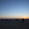 dawn on the playa