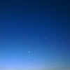 the moon + 3 planets