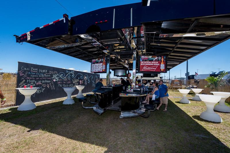 performs durnig the Country 500 at Daytona International Speedway in Daytona Florida