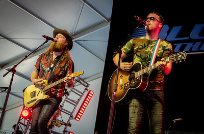 The Brothers Osborne perform during the Country 500 Music Festival 2016 at the Daytona International Speedway in Daytona Beach Florida.
