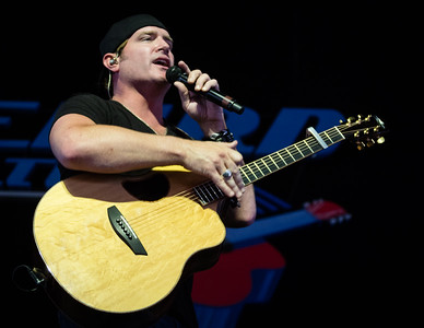 Jarrod Niemann performs during the Country 500 Music Festival 2016 at the Daytona International Speedway in Daytona Beach Florida.