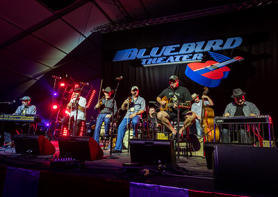 "The Time Jumpers Featuring Vince Gill, Kenny Sears and ""Ranger Doug"" Green perform during the Country 500 Music Festival 2016 at the Daytona International Speedway in Daytona Beach Florida."