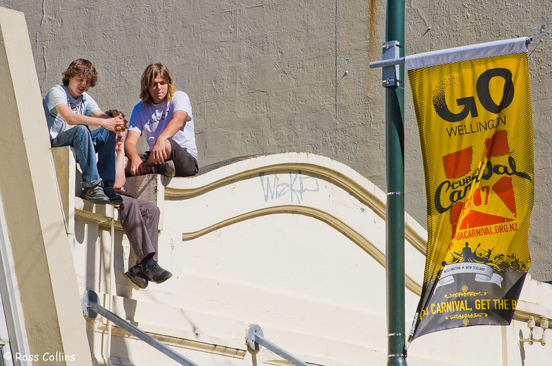 Cuba Street Carnival, Wellington, 24 February 2007