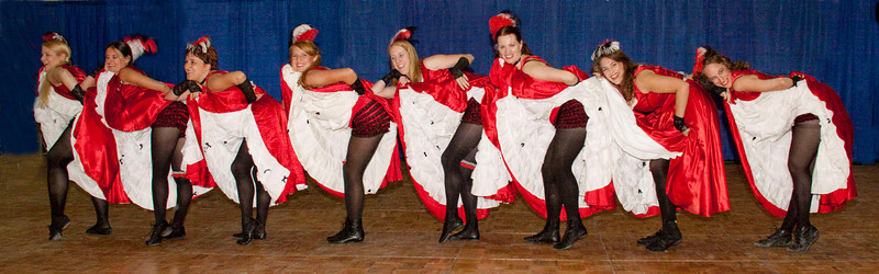 French Cancan Dancers Oktoberfest Berea Ohio