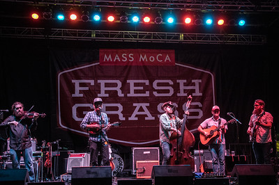 performs during the FreshGrass Festival 2016 at Mass MoCA in North Adams Ma.