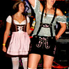 Debbie Blank | The Herald-Tribune<br /> Divas in Dirndls got the party started Friday night at Freudenfest.