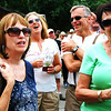 "Debbie Blank | The Herald-Tribune<br /> Fest-goers are challenged to not only sing ""The Schnitzelbank"" together, but do it in German."