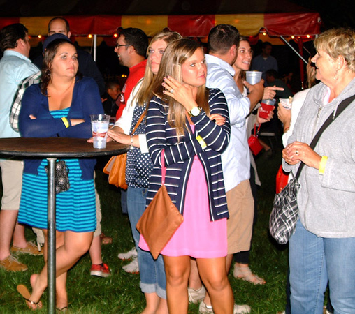 Debbie Blank | The Herald-Tribune<br /> When Freudenfest was expanded to Friday night several years ago, organizers weren't sure how it would go. The answer: The area's best end-of-the-work-week happy hour and a great time for natives who have moved away to reunite with old friends.