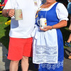 Debbie Blank | The Herald-Tribune<br /> Batesville councilman John Irrgang and wife Janna get into the German spirit.