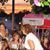 Debbie Blank | The Herald-Tribune<br /> Families were eating supper during a colorful sunset Friday.
