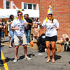 Diane Raver | The Herald-Tribune<br /> The crowd was encouraged to participate in a giant chicken dance.