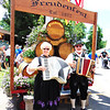Debbie Blank | The Herald-Tribune<br /> Mary Drake and Ken Nicol, Marysville, Ohio, and their accordians added a German feel to the 41st Freudenfest, which took place July 14-15 on public and church grounds in Oldenburg.