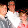 Debbie Blank | The Herald-Tribune<br /> A family is prepared for stormy weather at Freudenfest, then discover Gov. Eric Holcomb is in the (shelter) house. Photo opp!