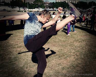 Acclaimed Austin-based choreographer Allison Orr - Forklift Danceworks: Invasion of the New Grrl Order