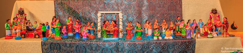 4th Row - Kalyana Set - Mappillai Azhaippu, Oonjal and Muhutrham