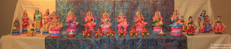 2nd Row - Ashta Lakshmi