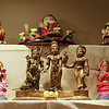 1st row Ganesha dolls bought by Paru's Mom<br /> 2nd Row - Ashta Lakshmi set with Ramar Pattabishekam