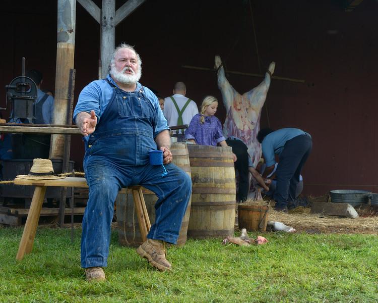 Master Butcher Explains19th-Century Butchering