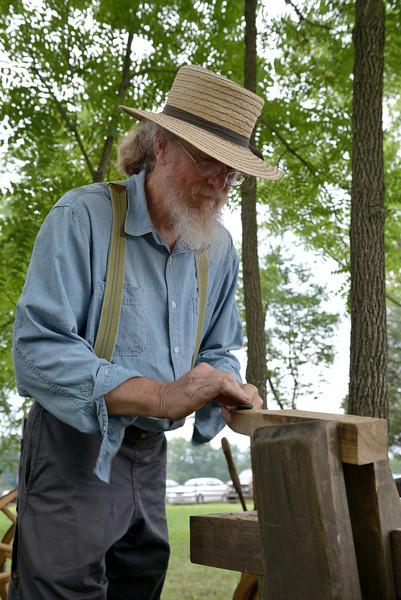 Wheelwright Jim Stuart Makes Shavings