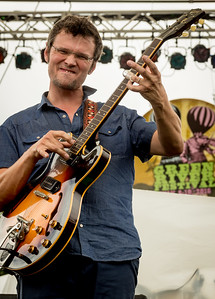 The North Mississippi Allstars perform during the Green River Festival 2016 at Greenfield Community College, Greenfield MA