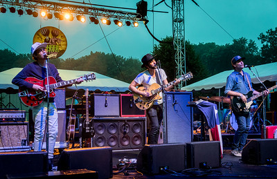 Shakey Graves performs during the Green River Festival 2016 at Greenfield Community College, Greenfield MA