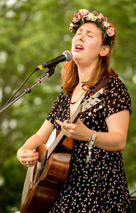 Sonya Kitchell performs during the Green River Festival 2016 at Greenfield Community College, Greenfield MA