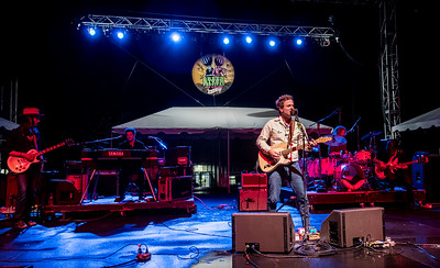 Dawes performs during the Green River Festival 2016 at Greenfield Community College, Greenfield MA