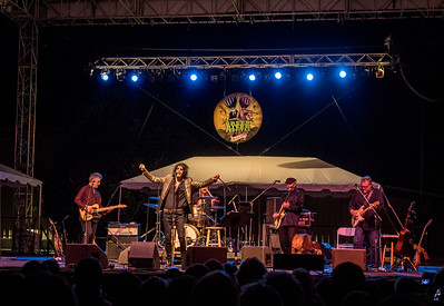 Peter Wolf and the Midnight Travelers perform during the Green River Festival 2016 at Greenfield Community College in Greenfield MA