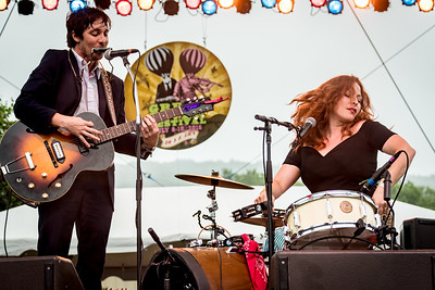 Shovels and Rope performs during the Green River Festival 2016 at Greenfield Community College, Greenfield MA