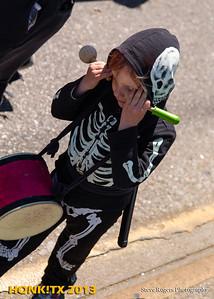 Honk!TX 2013 Sunday Parade