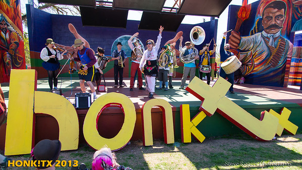 Honk!TX 2013 Sunday Grand Finale Show