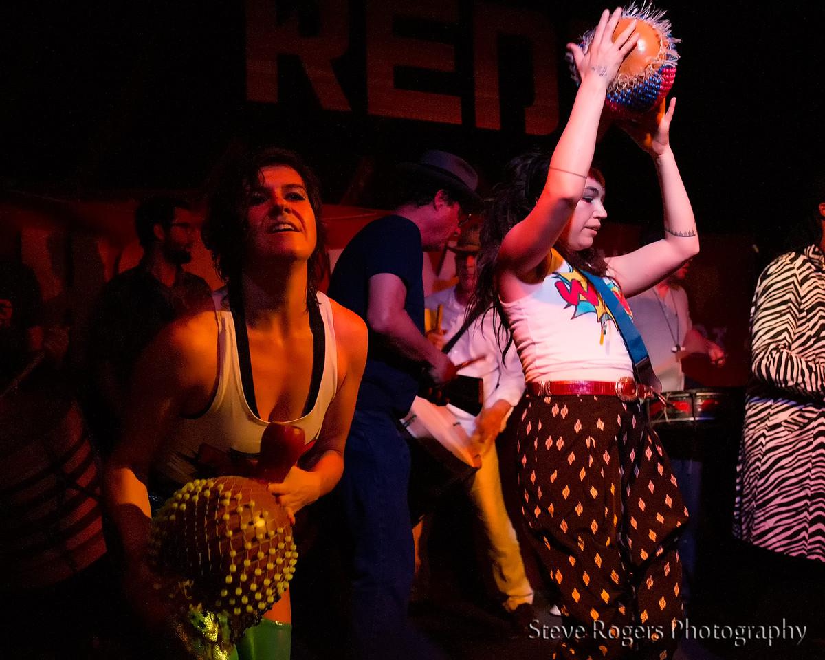 BateBunda peforms at Honk!TX presents: Brass Band Blitz 2 at Red 7 3/20/14