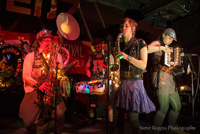 Emperor Norton's Stationary Marching Band @Honk!TX presents: Brass Band Blitz 2 at Red 7 3/20/14