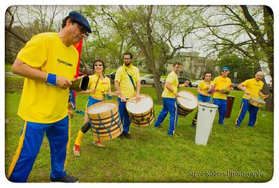 BateBunda Honk!TX in the Park! 3/22/2014