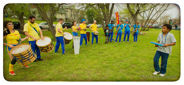 BateBunda Honk!TX in the Park! 3/22/2014
