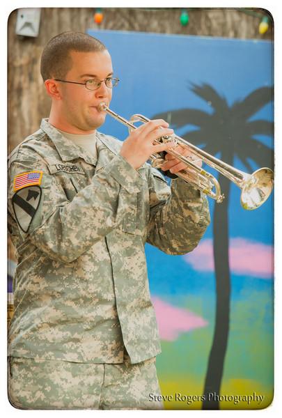 Biohazard Brass Band Honk!TX in the Park! 3/22/2014