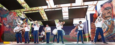 Honk!TX 2015 323d Army Band