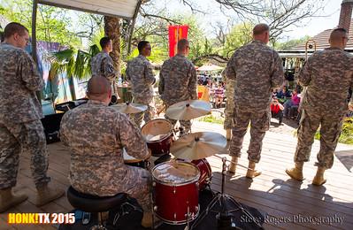 Honk!TX 2015 Biohazard Brass Band
