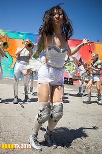 Honk!TX 2015 LoveBomb GoGo