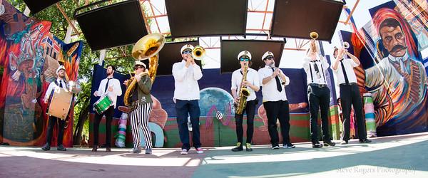 Honk!TX 2016 - Band Revue: Moon tower Brass Band - Austin, TX