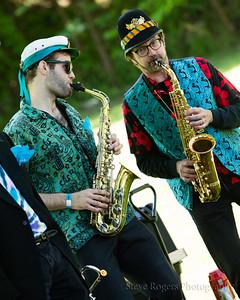 Honk!TX 2016: In the Park - @Partizani Brass Band, Santa Fe, NM
