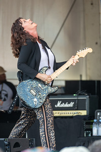 Alanis Morissette performs during day one of the New Orleans Jazz & Heritage Festival 2019 at Fairgrounds Race Cource, New Orleans LA on April 25th, 2019.