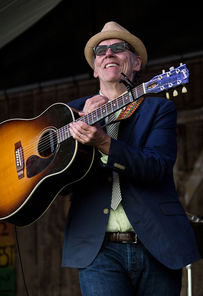 John Hiatt and The Combo performs during the New Orleans Jazz & Heritage Festival 2014 at the Fairgrounds Race Track, New Orleans Louisiana.